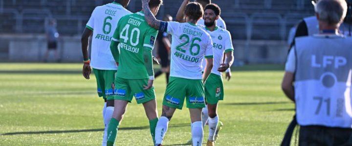 Temps de jeu des joueurs formés au club : l'ASSE domine la L1 !